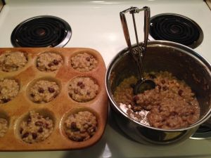 Oatmeal pot and muffin pan1