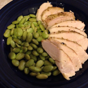 Edamame Salad with Chicken