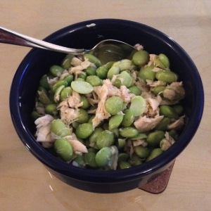 Edamame Salad with Tuna